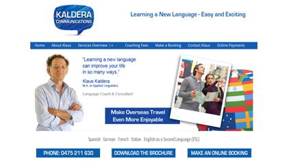 kaldera-communications-website
