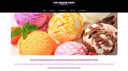 ice-cream-cafe-website