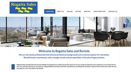 regatta-sales-website